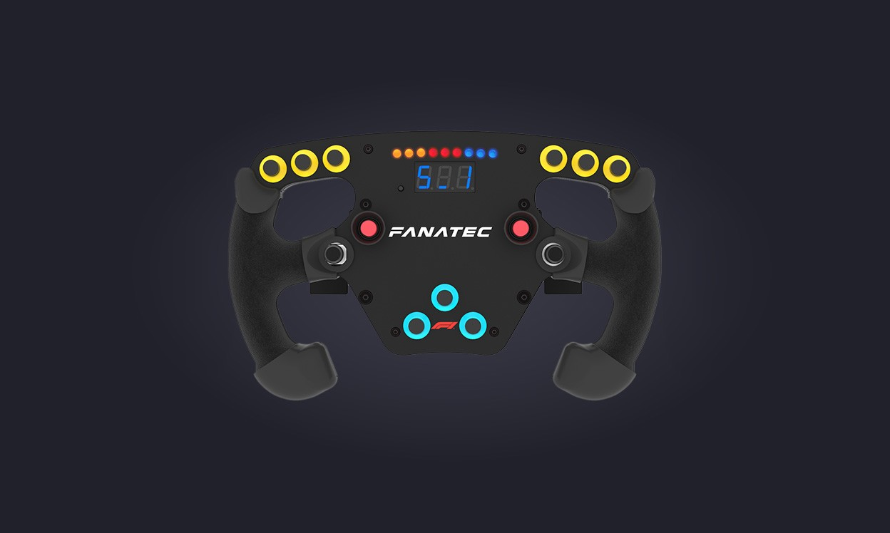 Fanatec Clubsport Steering Wheel F1® Esports