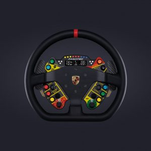 Podium Steering Wheel Porsche 911 GT3 R Leather